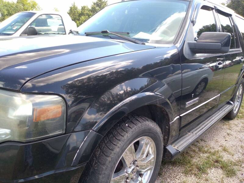 2008 Ford Expedition for sale at C & R Auto Sales in Bowlegs OK