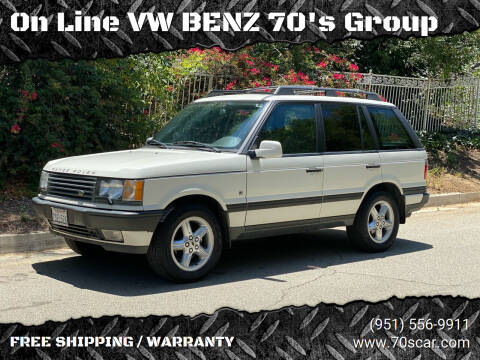 2000 Land Rover Range Rover for sale at On Line VW BENZ 70's Group in Warehouse CA