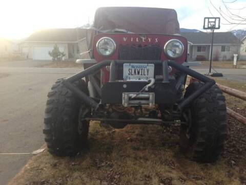 1954 Willys Jeep for sale at Haggle Me Classics in Hobart IN