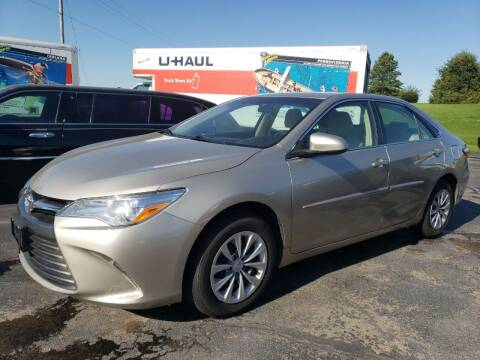 2016 Toyota Camry for sale at Tumbleson Automotive in Kewanee IL