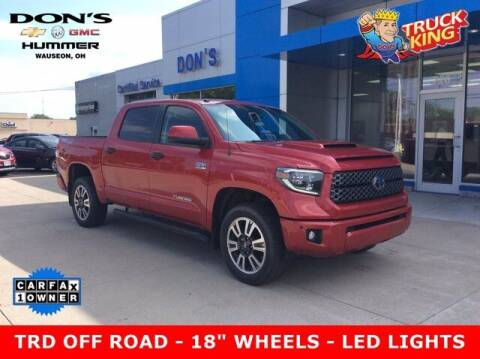2019 Toyota Tundra for sale at DON'S CHEVY, BUICK-GMC & CADILLAC in Wauseon OH