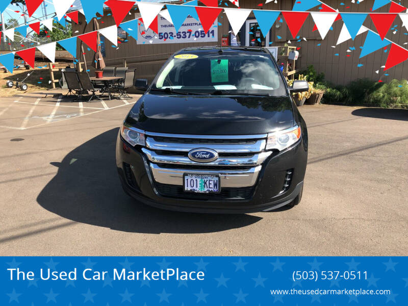 2013 Ford Edge for sale at The Used Car MarketPlace in Newberg OR