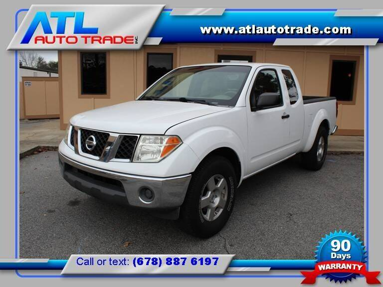 2008 Nissan Frontier for sale at ATL Auto Trade, Inc. in Stone Mountain GA