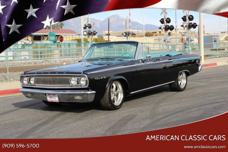 1965 Dodge Coronet for sale at American Classic Cars in La Verne CA