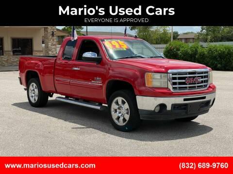 2011 GMC Sierra 1500 for sale at Mario's Used Cars - Pasadena Location in Pasadena TX