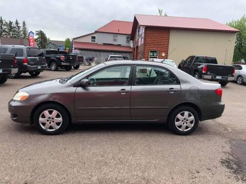 2006 Toyota Corolla for sale at WB Auto Sales LLC in Barnum MN