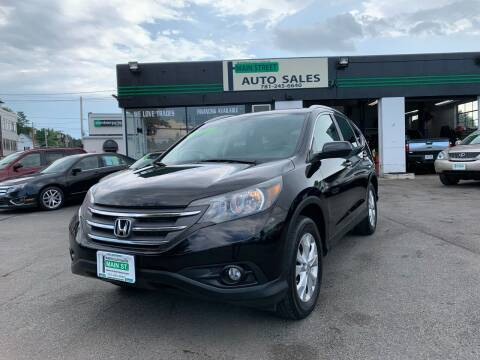 2013 Honda CR-V for sale at Wakefield Auto Sales of Main Street Inc. in Wakefield MA