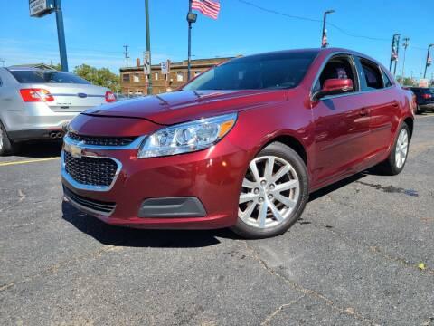 2015 Chevrolet Malibu for sale at Rite Track Auto Sales in Detroit MI