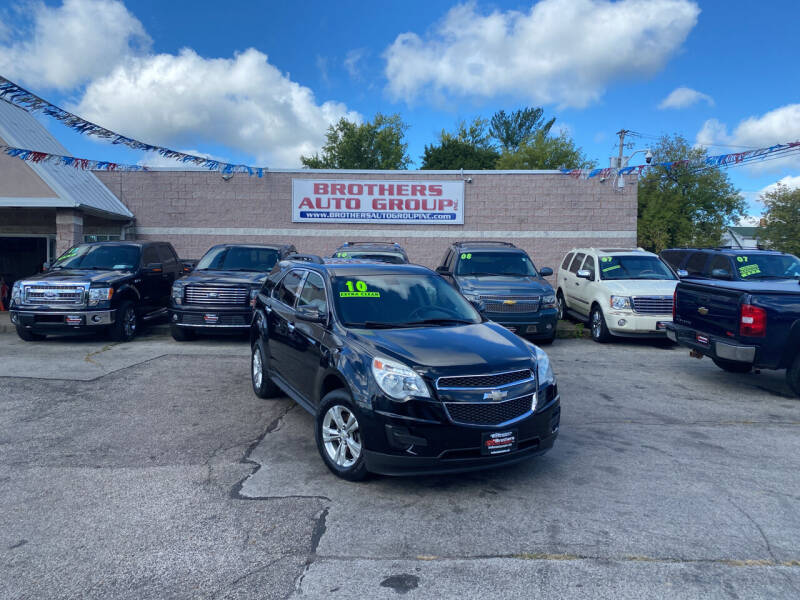 2010 Chevrolet Equinox for sale at Brothers Auto Group in Youngstown OH
