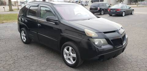 2003 Pontiac Aztek for sale at Van Kalker Motors in Grand Rapids MI