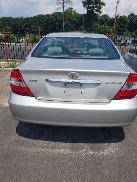 2002 Toyota Camry for sale at Palmer Automobile Sales in Decatur GA