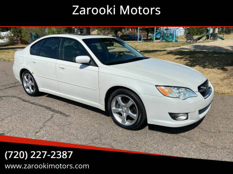 2008 Subaru Legacy for sale at Zarooki Motors in Englewood CO