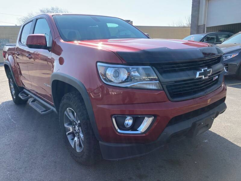 2015 Chevrolet Colorado for sale at RABIDEAU'S AUTO MART in Green Bay WI