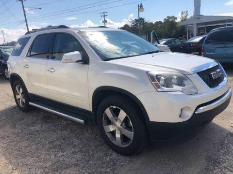 2011 GMC Acadia for sale at Potter Motors Conway in Conway AR