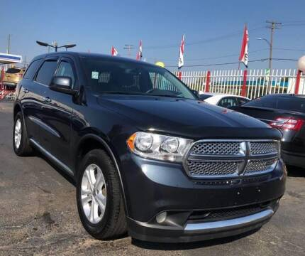 2013 Dodge Durango for sale at Number 1 Car Company in Detroit MI
