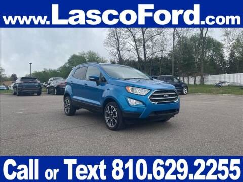 2018 Ford EcoSport for sale at Lasco of Grand Blanc in Grand Blanc MI