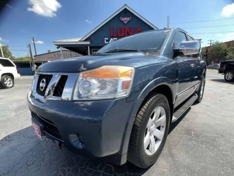 2013 Nissan Armada for sale at LUNA CAR CENTER in San Antonio TX