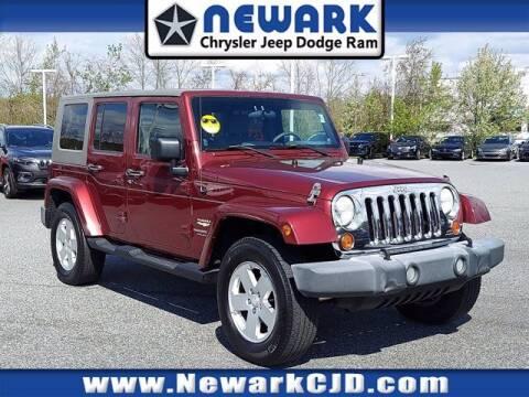 2007 Jeep Wrangler Unlimited for sale at NEWARK CHRYSLER JEEP DODGE in Newark DE