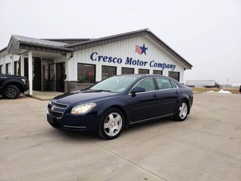 2009 Chevrolet Malibu for sale at Cresco Motor Company in Cresco IA