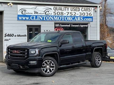 2017 GMC Sierra 1500 for sale at Clinton MotorCars in Shrewsbury MA