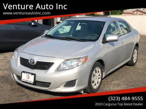 2010 Toyota Corolla for sale at Venture Auto Inc in South Gate CA