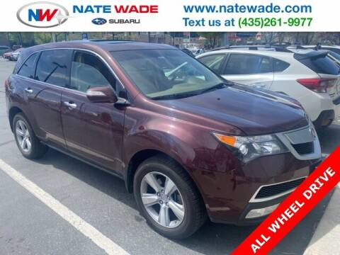 2010 Acura MDX for sale at NATE WADE SUBARU in Salt Lake City UT
