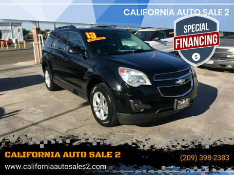 2013 Chevrolet Equinox for sale at CALIFORNIA AUTO SALE 2 in Livingston CA