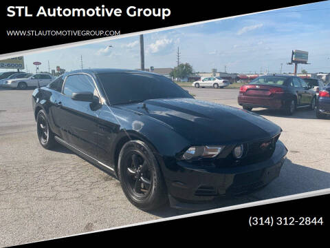 2011 Ford Mustang for sale at STL Automotive Group in O'Fallon MO
