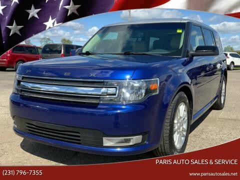 2014 Ford Flex for sale at Paris Auto Sales & Service in Big Rapids MI