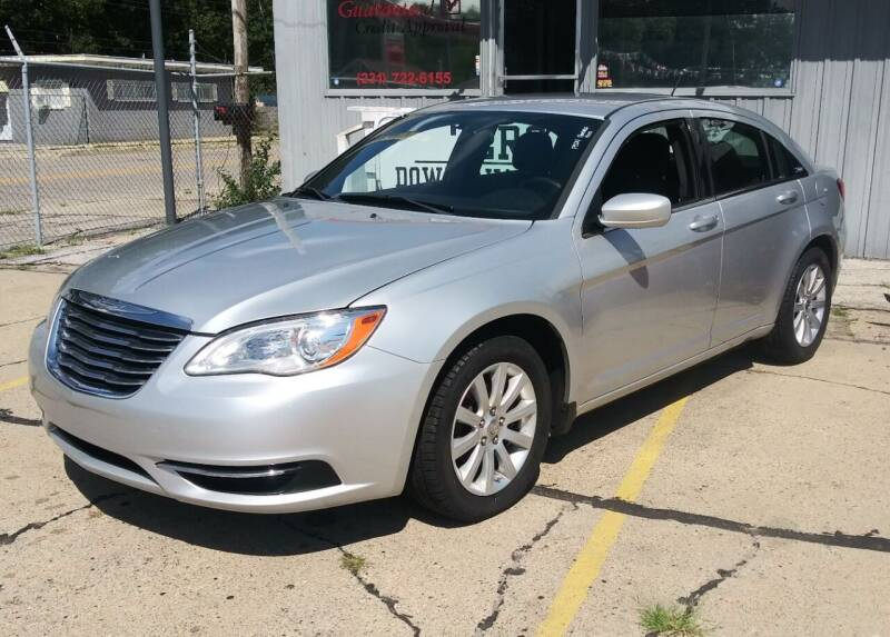 2011 Chrysler 200 for sale at Wicked Motorsports in Muskegon MI