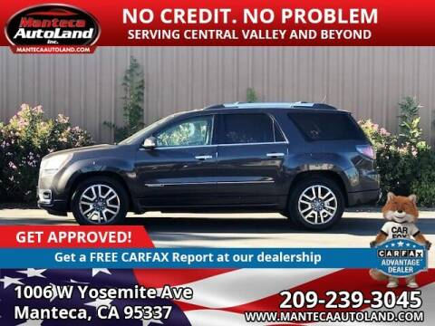 2013 GMC Acadia for sale at Manteca Auto Land in Manteca CA