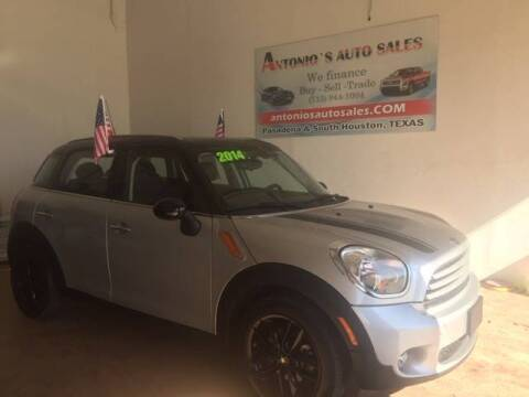 2014 MINI Countryman for sale at Antonio's Auto Sales in South Houston TX