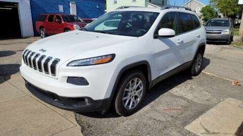 2014 Jeep Cherokee for sale at M & C Auto Sales in Toledo OH