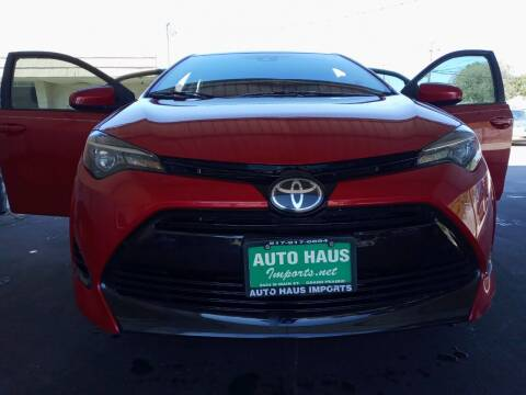 2018 Toyota Corolla for sale at Auto Haus Imports in Grand Prairie TX