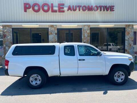 2017 Toyota Tacoma for sale at Poole Automotive -Moore County in Aberdeen NC