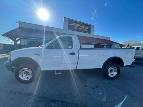 2001 Ford F-150 for sale at Ridley Auto Sales, Inc. in White Pine TN