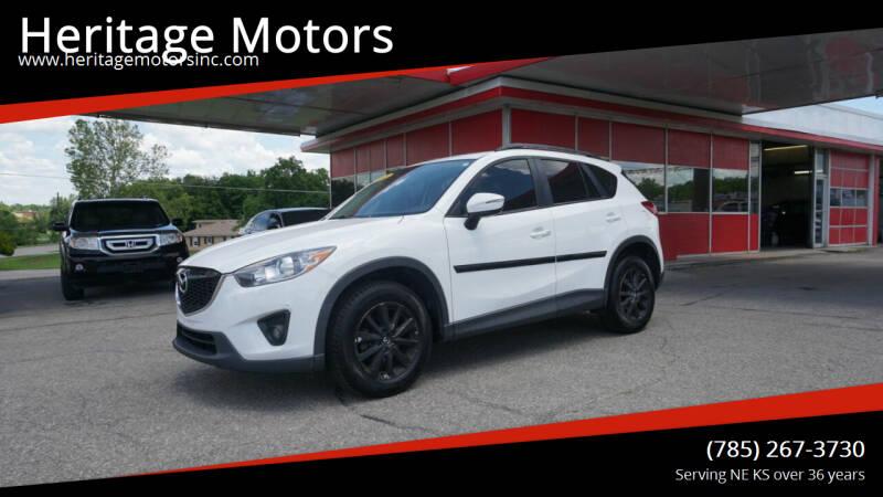 2015 Mazda CX-5 for sale at Heritage Motors in Topeka KS