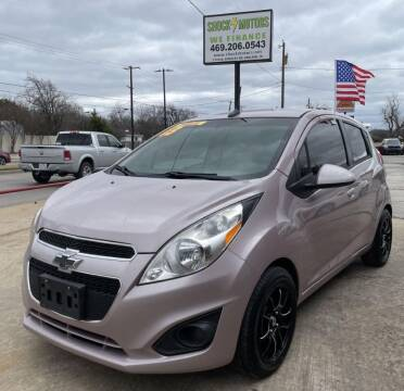 2013 Chevrolet Spark for sale at Shock Motors in Garland TX