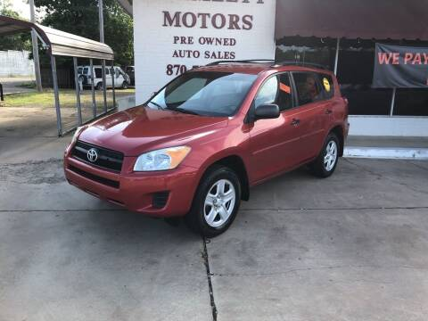 2010 Toyota RAV4 for sale at BRAMLETT MOTORS in Hope AR