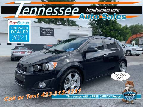 2015 Chevrolet Sonic for sale at Tennessee Auto Sales in Elizabethton TN