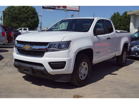 2018 Chevrolet Colorado for sale at Monthly Auto Sales in Fort Worth TX