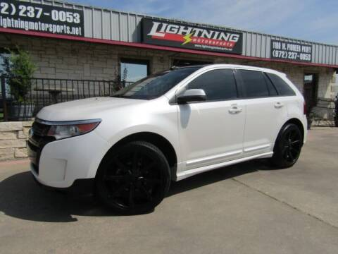 2013 Ford Edge for sale at Lightning Motorsports in Grand Prairie TX