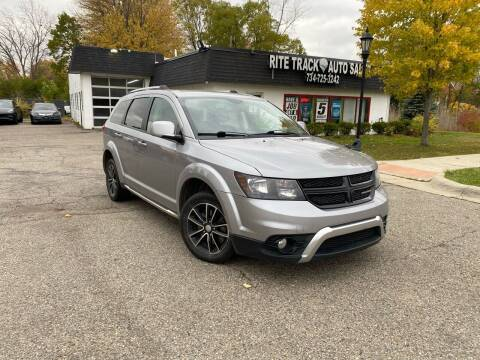 2017 Dodge Journey for sale at Rite Track Auto Sales in Canton MI