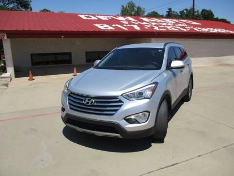 2015 Hyundai Santa Fe for sale at DFW Auto Leader in Lake Worth TX