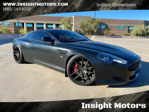 2007 Aston Martin DB9 for sale at Insight Motors in Tempe AZ