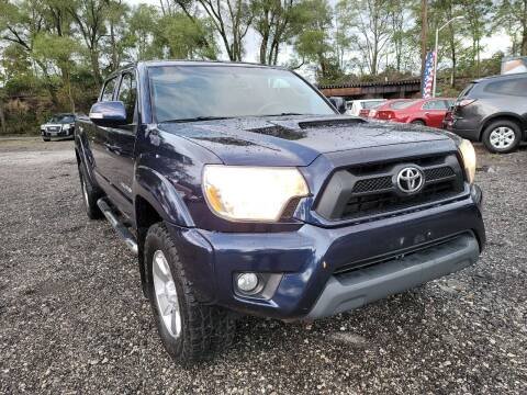 2012 Toyota Tacoma for sale at Johnsons Car Sales in Richmond IN