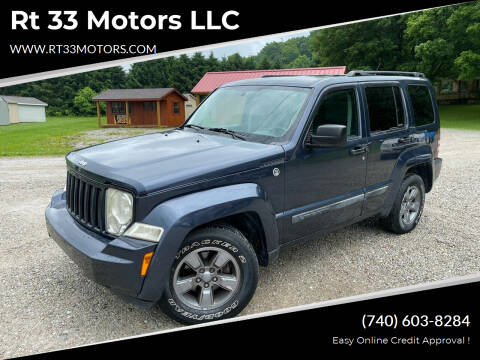 2008 Jeep Liberty for sale at Rt 33 Motors LLC in Rockbridge OH