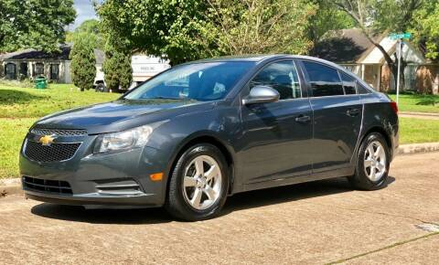 2013 Chevrolet Cruze for sale at Texas Auto Corporation in Houston TX