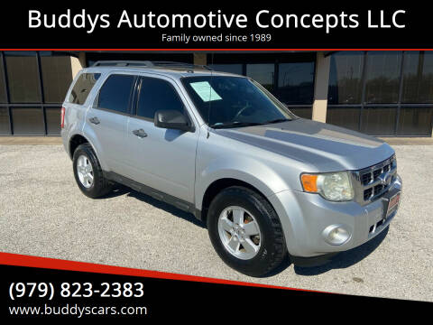 2010 Ford Escape for sale at Buddys Automotive Concepts LLC in Bryan TX