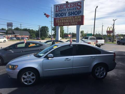2007 Volvo S40 for sale at Deckers Auto Sales Inc in Fayetteville NC